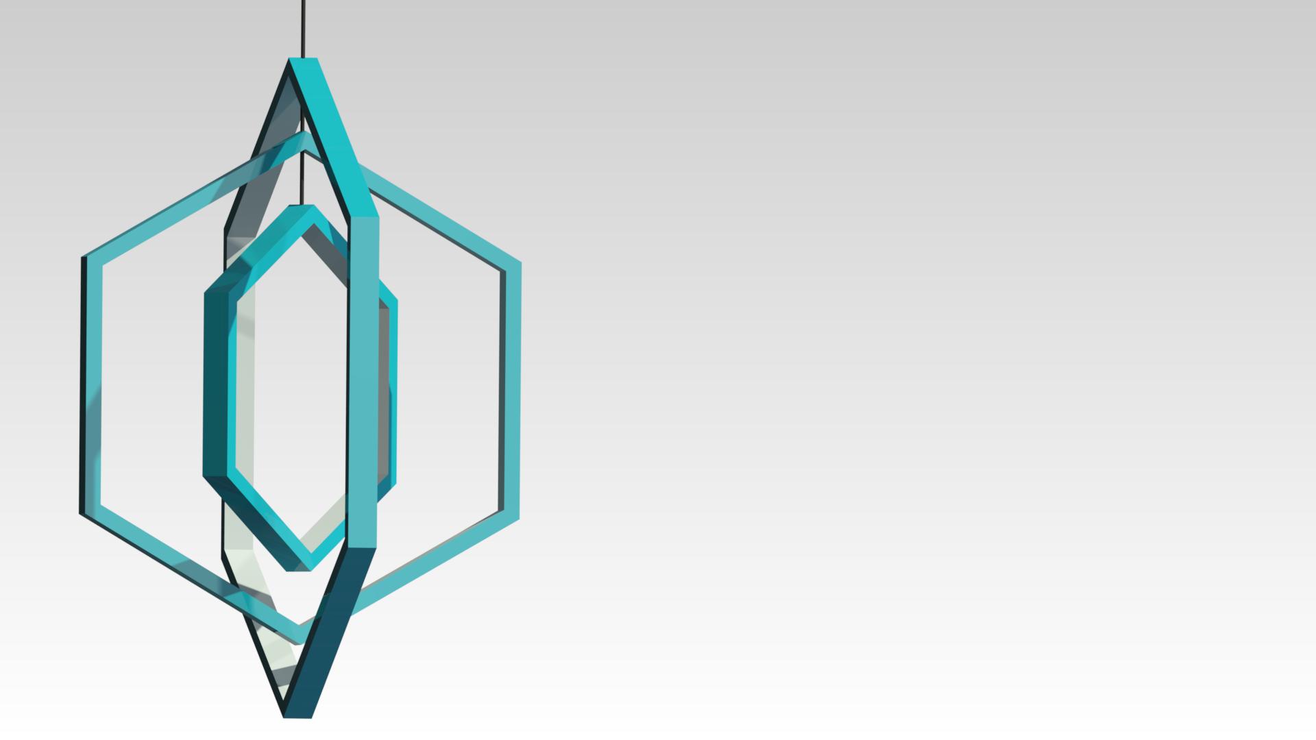 дизайнерская светодиодная подвесная люстра