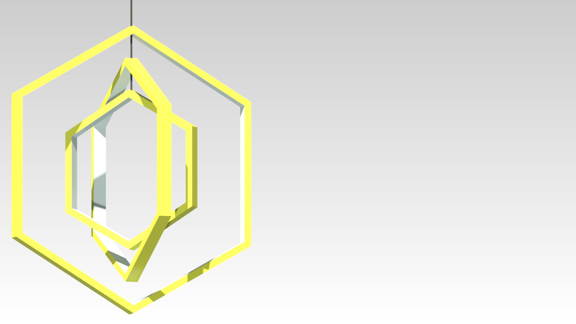 желтая светодиодная подвесная люстра