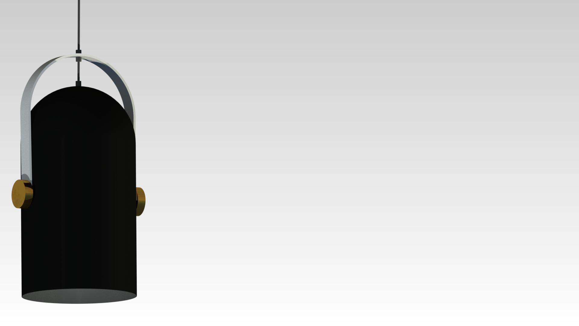 черный дизайнерский подвесной светильник для ресторана