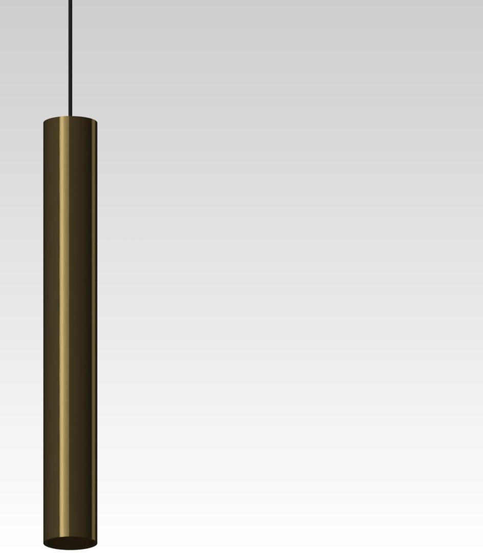 светильник подвесной точечный из латуни