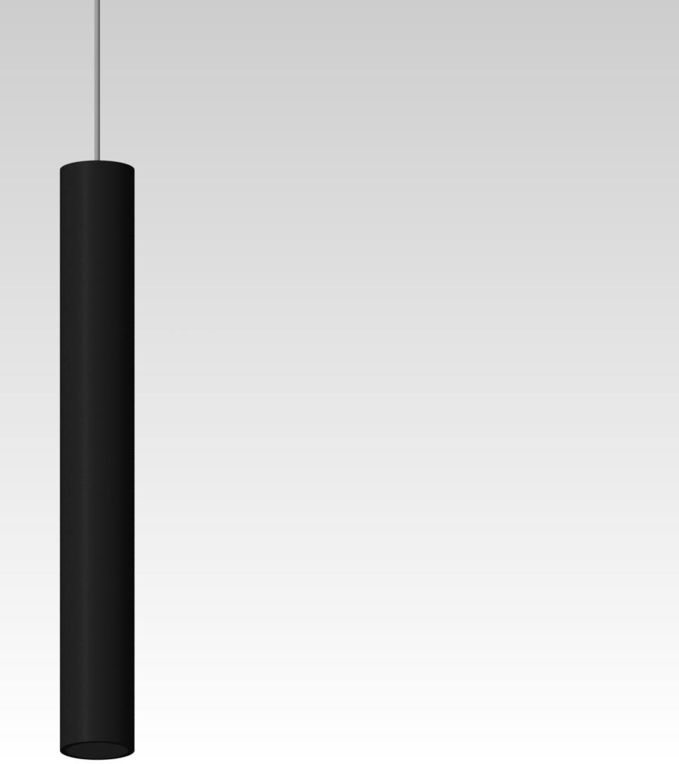 дизайнерский светильник подвесной точечный черный